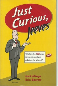 náhled knihy - Just Curious, Jeeves