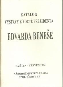 náhled knihy - Katalog výstavy k poctě Edvarda Beneše 1994