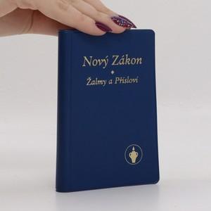 náhled knihy - Nový Zákon - Žalmy a Přísloví