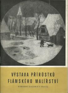 náhled knihy - Výstava přírůstků flámského umění