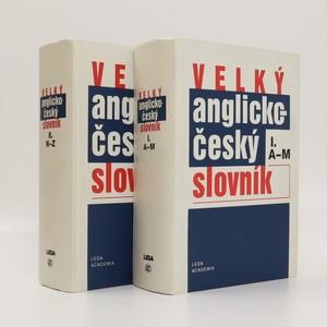 náhled knihy - Velký anglicko-český slovník = English-Czech dictionary. I. a II. díl (2 svazky, komplet)