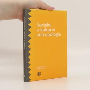 náhled knihy - Sociální a kulturní antropologie