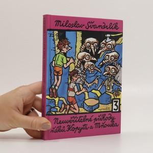 náhled knihy - Neuvěřitelné příhody žáků Kopyta a Mňouka 3