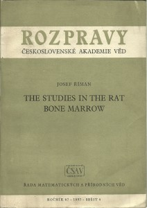 náhled knihy - The Studies in the Rat Bone Marrow