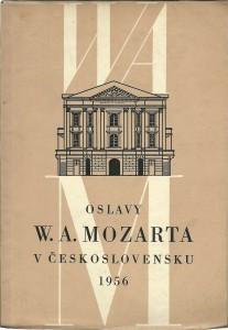 náhled knihy - Oslavy W. A. Mozarta v Československu 1956