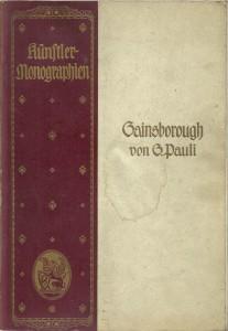 náhled knihy - Gainsborough von Gustav Pauli