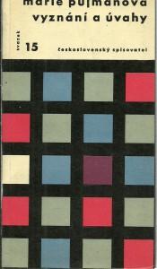 náhled knihy - Vyznání a úvahy