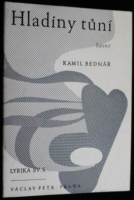 náhled knihy - Hladiny tůní : poesie