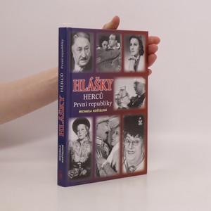 náhled knihy - Hlášky herců první republiky