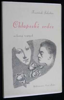 náhled knihy - Chlapecké srdce : milostný triptych