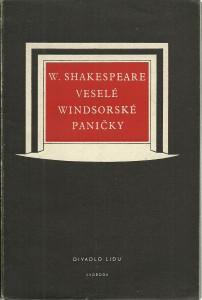 náhled knihy - Veselé windsorské paničky