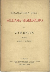 náhled knihy - Cymbelin