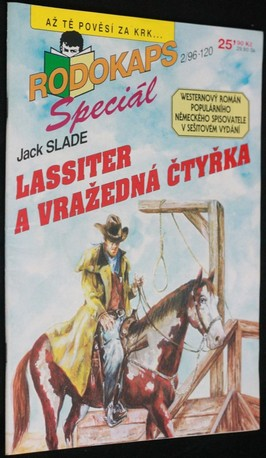 náhled knihy - Lassiter a vražedná čtyřka