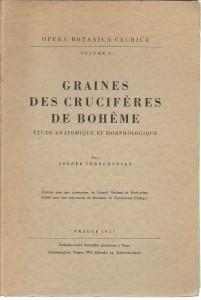 náhled knihy - Graines des cruciféres de Boheme. Étude anatomique et morphologique