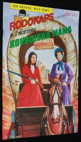 náhled knihy - Kovbojská máma