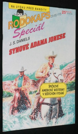 náhled knihy - Synové Adama Jonese