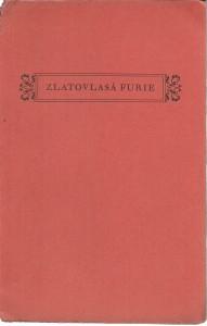 náhled knihy - Zlatovlasá furie