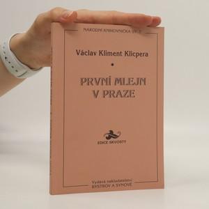 náhled knihy - První mlejn v Praze
