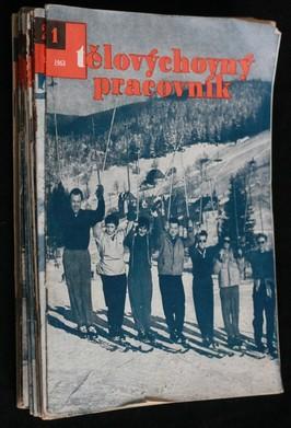 náhled knihy - Tělovýchovný pracovník, Konvut: 1963 (č. 1,2,3,4,7,15,16,17,18,19), 1964 (č. 10), 1965 (č. 7,11,12,13,14,15)