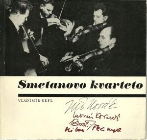 náhled knihy - Smetanovo kvarteto