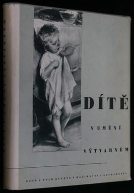 náhled knihy - Dítě v umění výtvarném : Duše a tvář dítěte v malířství a sochařství