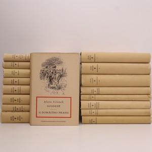 náhled knihy - 13 románů Aloise Jiráska (17 svazků)