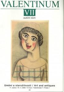 náhled knihy - Valentinum VII. Umění a starožitnosti 11. aukce 31.5. 2009