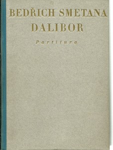náhled knihy - Dalibor. Partitura