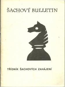 náhled knihy - Šachový bulletin č. 2 / 1976. Třídník šachových zahájení