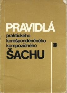 náhled knihy - Pravidlá praktickeho kerešpondenčného kompozičného šachu platné od 1. 1. 1986