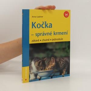 náhled knihy - Kočka - správné krmení : zdravě, chutně, jednoduše