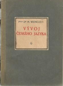 náhled knihy - Vývoj českého jazyka
