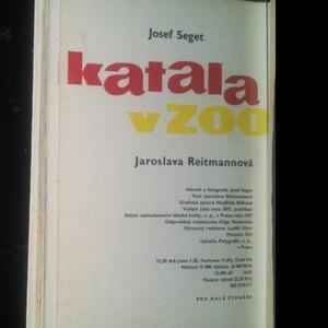 antikvární kniha Katala v zoo, 1967