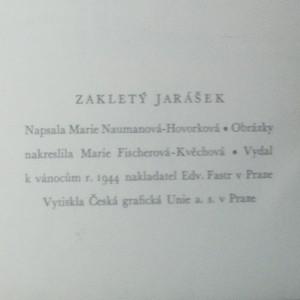 antikvární kniha Zakletý Jarášek, 1944