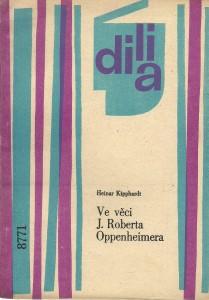 náhled knihy - Ve věci J. Roberta Oppenheimera