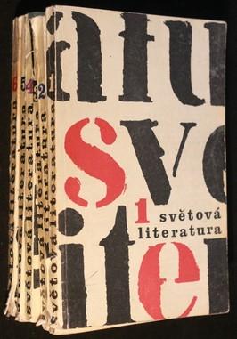 náhled knihy - Světová literatura 1. - 6. 1964