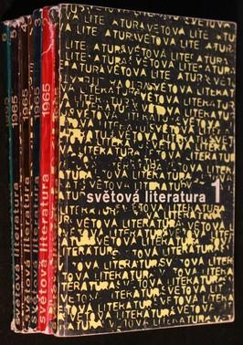 náhled knihy - Světová literatura 1. - 6. 1965