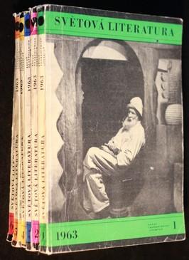 náhled knihy - Světová literatura 1. - 6. 1963
