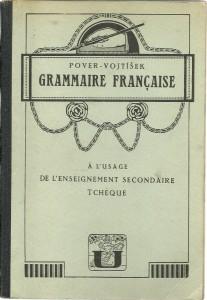 náhled knihy - Grammaire francaise à l'ussage de l'enseignement secondaire tchèque