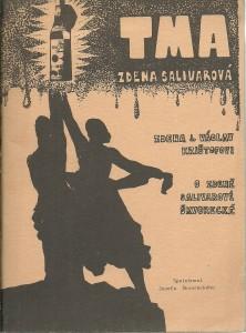 náhled knihy - Tma. Zdena Salivarová