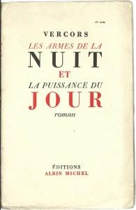 náhled knihy - Les armes de la nuit et La puissance du jour