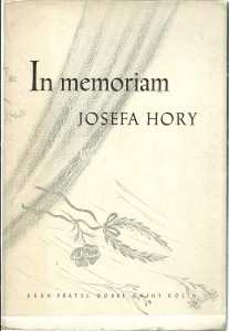 náhled knihy - In memoriam Josefa Hory