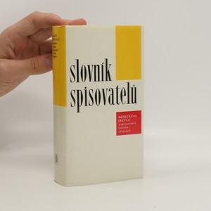 náhled knihy - Slovník spisovatelů německého jazyka a spisovatelů lužicko-srbských