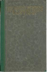 náhled knihy - V odlehlé dědině