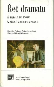 náhled knihy - Řeč dramatu - II. Film a televize (Umění vnímat umění)