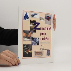 náhled knihy - Zámečnické práce a údržba : technologie 2. díl