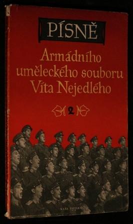 náhled knihy - Písně Armádního uměleckého souboru Víta Nejedlého. 2