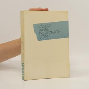 náhled knihy - Do různých stran. Eseje a články z let 1983-1989.