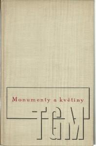 náhled knihy - Monumenty a květiny. TGM