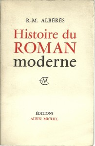 náhled knihy - Histoire du roman moderne